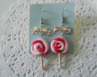 American earrings - Lollipop lollipop
