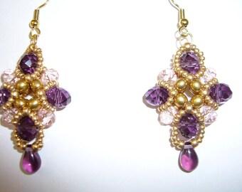 Swarovski Baroque crystal earrings