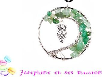 1 tree of life pendant Agate