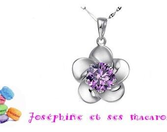 1 Sterling Silver 925 Fleur