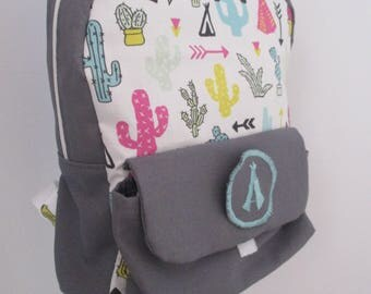 PERSONALIZED kids BACKPACK, back to school
