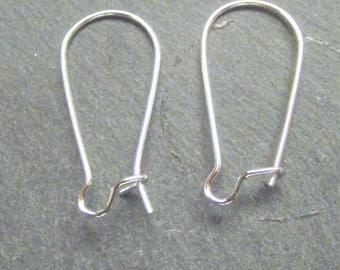 20 hooks 22x11ou sleeper earring silver