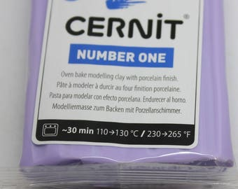 Polymer clay CERNIT Number One color-LILAC - 56 Gr