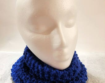 Knitted Neck Warmer, Knit Scarf