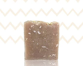 Handmade Vanilla Oatmeal Honey Goat Milk Soap