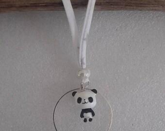 panda spaguetti liberty necklace