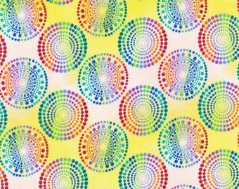 patchwork fabric circles 120 multicolored/11822
