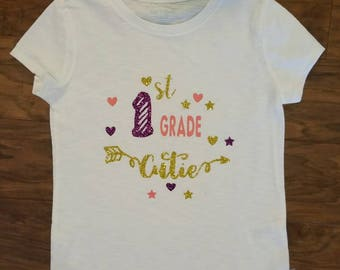 First Grade Cutie shirt
