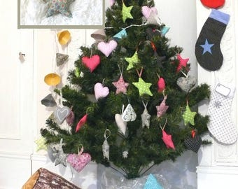 Star hanging, ideal for Christmas tree