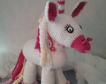 Klaus the Pink Pink Unicorn, approx. 40 cm