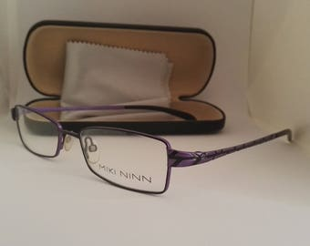 Miki black and purple glasses prescription Minn