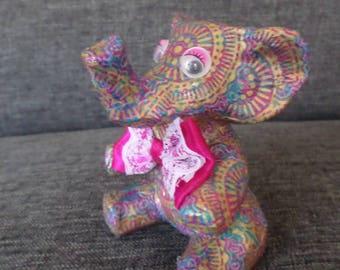 Object decorative elephant paper mache