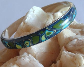 Blue and green Bangle