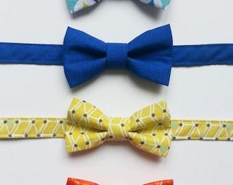 Colorful kids bowtie
