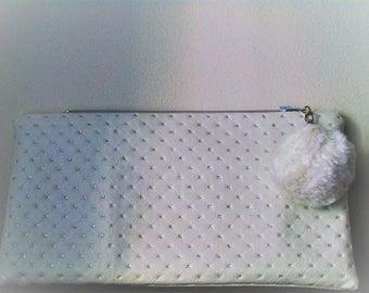 Damask faux silver glitter Kit