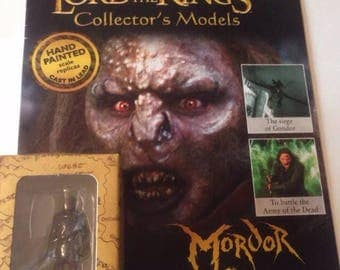 lord of the rings eaglemoss figure and magazine