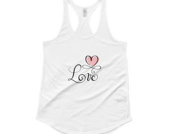 LV Ladies' Shirttail Tank