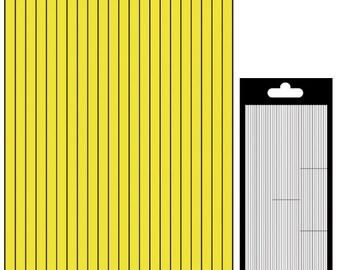 Decal border lines - matte gold - STI13170