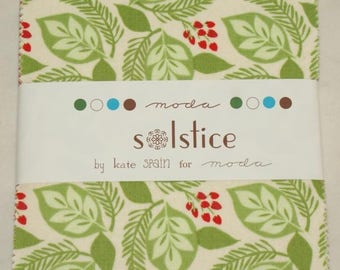 "Patchwork charm pack by moda - ""Solstice""."