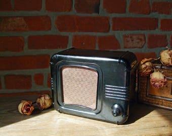 Soviet radio, Russian radio, Bakelite radio, Vintage radio 1960s, Radio speaker, Radio USSR