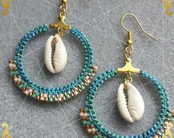 "Earrings summer ""vamos a la playa"""