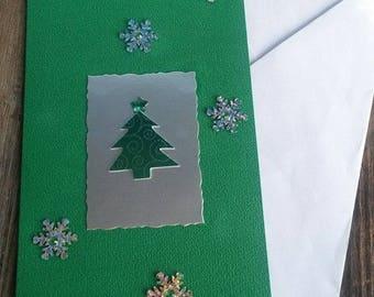 """Christmas greeting card """"a magical Christmas"""""""