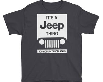 Jeep Thing Youth Short Sleeve T-Shirt