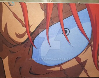 Hand made drawing from One Piece.