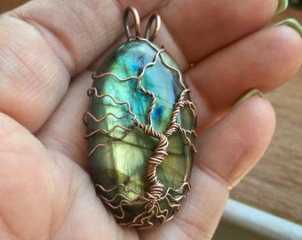 Wire wrapped Tree of Life/Bodhi Tree