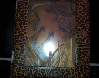 table lamp wall African theme