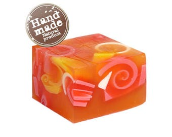 Natural Glycerin Soap Guava and Papaya
