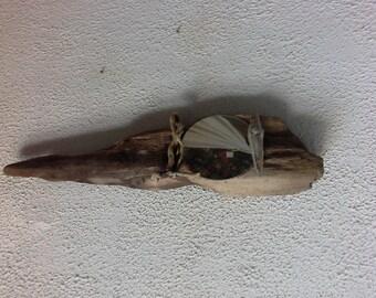 Very original mirror wooden float