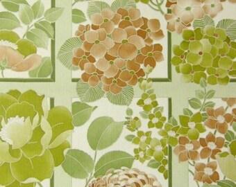Vintage Wallpaper Trellisa grün per meter