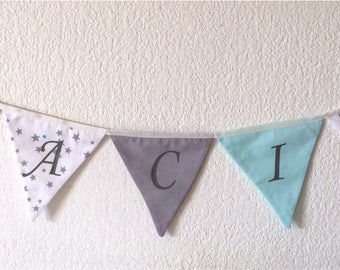 Personalised Bunting - names 5 letters