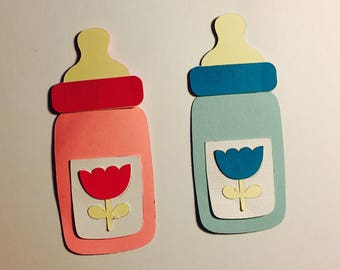 Baby Bottle Decorations (Can be made in different colors)