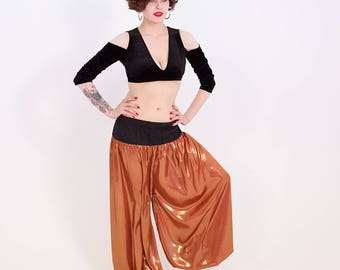 Copper pantaloons Tribal Bellydance ATS classic dance