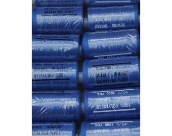 Royal Blue polyester 1000 thread 340 yards