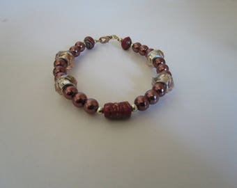 Brown Pearl Bracelet