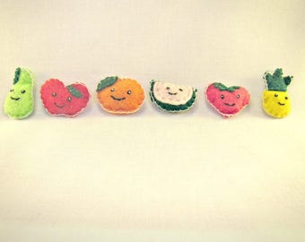 Cute Fruit Magnets