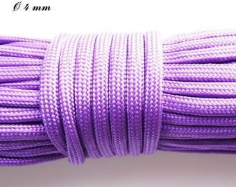 Cord / Paracord 550 4 mm: Violet
