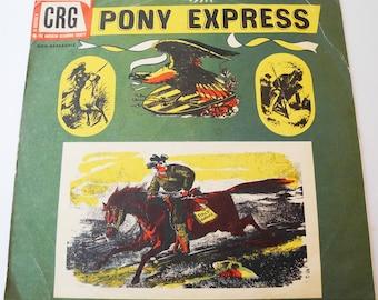 "Vinyl 78 Tours Vintage ""Pony Express"""