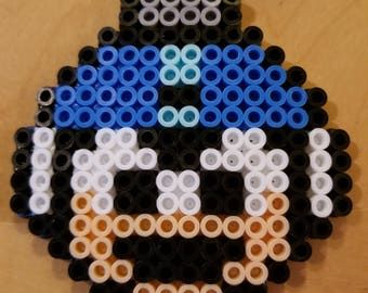 Mega Man Perler Ornament