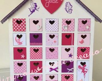 Baby gift box / box has memories for little girl fairy theme