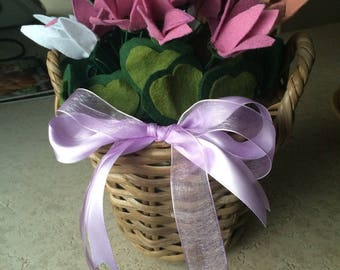 fabric flower arrangements and pannolano