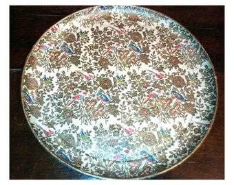 Japanese/vintage/birds/flowers tray tray tray tray