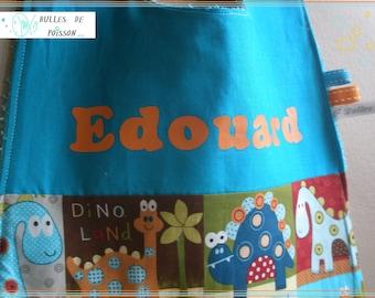 add name on towel canteen / table or bandana bib.
