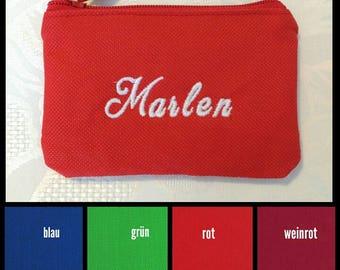 Customizable mini zipper pouch / purse children