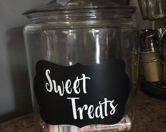Sweet Treats Jar
