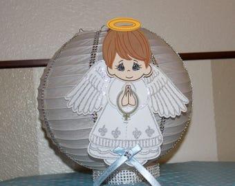 Baptism angel paper lanterns