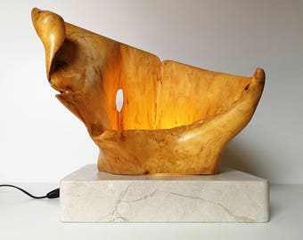 Large Elephant Ear lamp